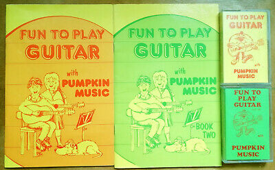 FUN TO PLAY GUITAR Pack 1 And Pack 2 For Children Books And  Cassettes  • 4.95£