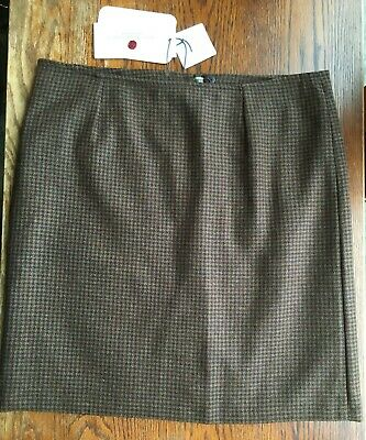 Laksen Ladies Limited Edition Silkwood Tweed Skirt Size 10 /S • 59£