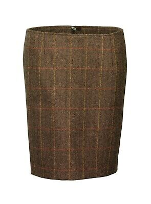 Laksen Ladies Blair Tweed Skirt Size 10 • 69£