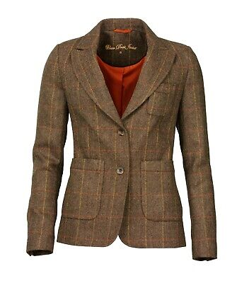 Laksen Ladies Blair Tweed Dress Jacket Size 10 /S • 199£