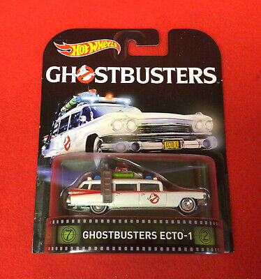 1:64 Hot Wheels Ghostbusters II ECTO 1A White • 7.23£