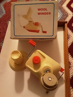 Hand Operated Yarn Winder Wool Winder Boxed  • 15£