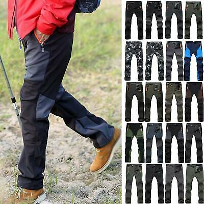 £22.49 • Buy Men's Winter Warmer Thermal Trousers Tactical Cargo Soft Shell Combat Work Pants
