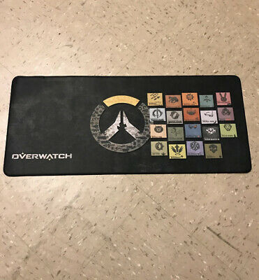 AU20.67 • Buy Brand New XL Overwatch Gaming Mousepad