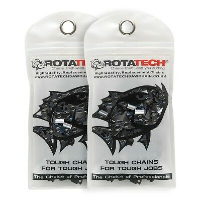 2 18  Rotatech Chainsaw Chain Fits STIHL 025 025C MS240 MS241 MS250 MS251 68DL • 21.49£
