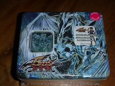 Yu-Gi-Oh! Stardust Dragon Collectible Tin 2008 1st Wave 5DS. Lot 2. • 900£