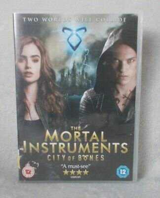 The Mortal Instruments - City Of Bones (DVD, 2014) Jamie Campbell Bower /  • 0.99£