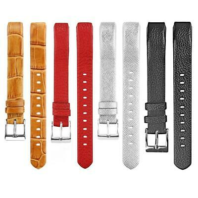 AU11.60 • Buy Leather Watch Band Bracelet Strap Replacement For Fitbit Alta Wristband