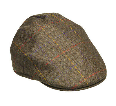LaksenGrouse Collection Tweed Flat Cap Size 59 • 39£