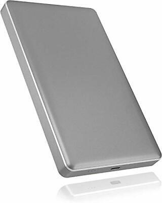 ICY BOX Aluminum External Enclosure Grey For 1x 2.5 Inch SATA HDD/SSD With US... • 18.04£