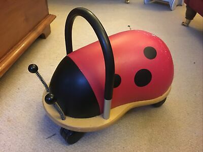 The Original Wheely Bug - Ladybird Ride-On Toy (Small, 1 Year+) • 1£
