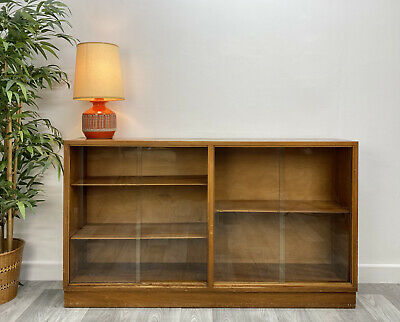 £95 • Buy Morris Of Glasgow, Cumbrae Glass Fronted Display Cabinet, Bookcase, Storage B10#