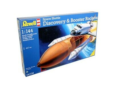 £39.99 • Buy Revell® Space Shuttle Discovery & Booster Rockets Plastic Model Kit 04736
