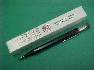 $6 • Buy Autopoint Jumbo All American Black Paneled Mechanical Pencil 0.9mm New In Box