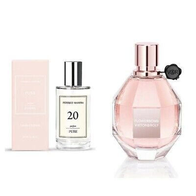 Fm 20 Womens Pure Limited Edition Perfume 50ml Inspired By Flowerbomb In Stock  • 17.49£