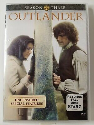AU14.74 • Buy Outlander Season 3 DVD New Sealed Uncensored Special Features Free Shipping