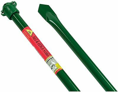 £12.95 • Buy Mesh & Fence Stake Metal 1m Pole & Fixing Clip Garden Fencing Pest Pets Crops