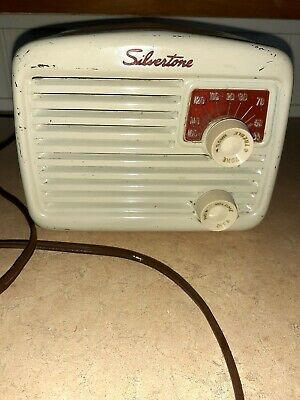 $ CDN72.32 • Buy 1946 Sears Roebuck Silvertone 6002 Mini Am Radio, Metal,6 Long