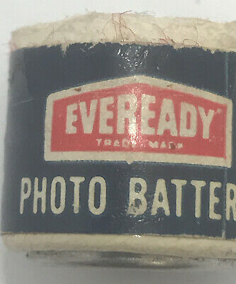 £17.75 • Buy Vintage Eveready Camera Or 8mm Movie Photo  Battery Old Pa4kdA