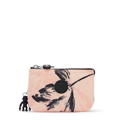 $ CDN31.84 • Buy Kipling Small Pouch Creativity S Purse Cosmetic Case CORAL FLOWER SS21 RRP £23