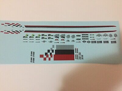 £4.70 • Buy 1/18 Scale Modified Tuning NISMO & SPONSOR Decals