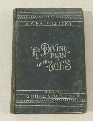 $79.96 • Buy Millennial Dawn, Volume 1, Divine Plan Of The Ages, Watch Tower Bible, 1906
