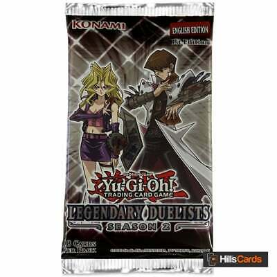 £4.50 • Buy YuGiOh Legendary Duelists Season 2 Sealed Booster Pack Of 18 Trading Cards TCG
