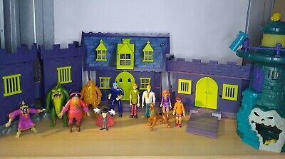 £89.99 • Buy Scooby Doo Haunted Mansion 👻 Mega Bundle 5 X Playsets Scooby Gang 6 X Villains.