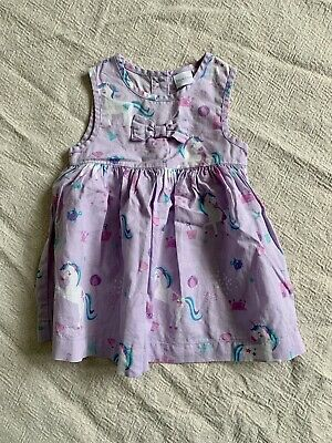 BLUE ZOO DEBENHAMS Baby Girl Dress 3-6 Months • 1£