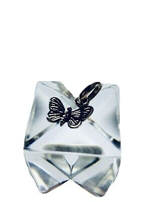 £18.20 • Buy Links Of London Sterling Silver Butterfly Charm Pendant