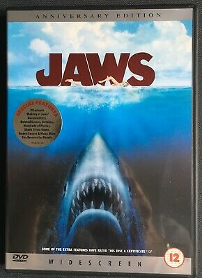 Jaws  DVD Anniversary Edition Widescreen - SC30 • 1£