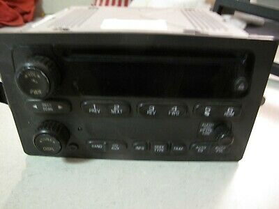 $125 • Buy Factory 03 04 05 06 CHEVY SIERRA TAHOE YUKON SILVERADO RADIO CD Player 15104155