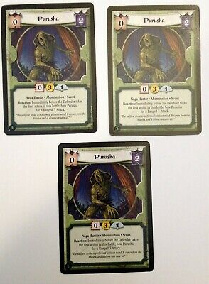 Purusha (3) L5R Legend Of The Five Rings CCG Fire And Shadow • 1.42£