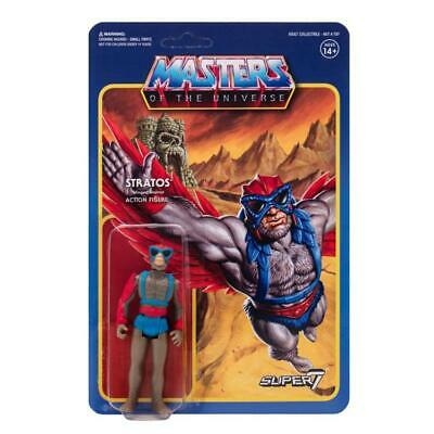 $19.95 • Buy Masters Of The Universe Stratos ReAction Figure Super7 MOTU