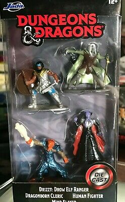 AU11.61 • Buy Dungeons & Dragons D&d Die-cast Fig Set Starter Pack Drizzt, Mindflayer, & More
