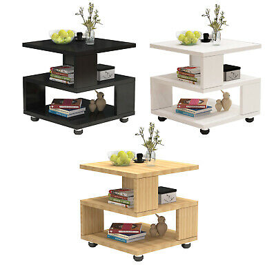 £30.99 • Buy 2 Tier Coffee Tea End Table Side Sofa Night Stand For Living Room Furniture ~UK