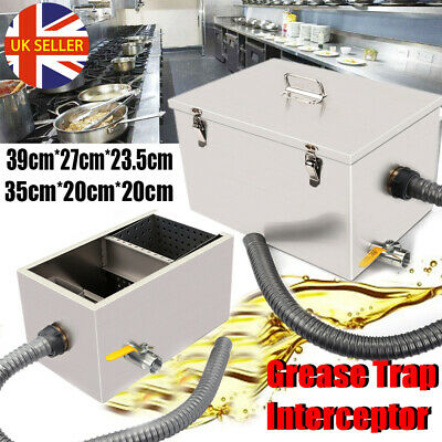 £24.98 • Buy Commercial Grease Trap Interceptor Fat Traps Restaurant Takeaway Wastewater UK