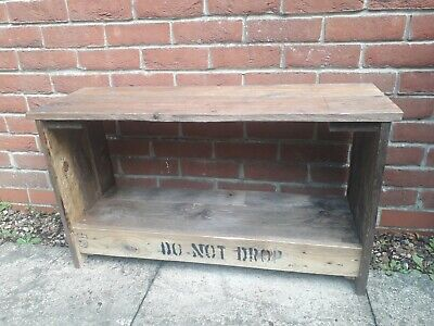 REPURPOSED HANDMADE Wooden Bench,  • 75£