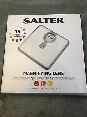 £23.96 • Buy Salter SA 486 WHKR Mechanical Weighing Bathroom Scales With Magnifying Glass