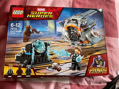 Lego Marvel Super Heroes / Avengers Infinity War Set 76102 Thor's Weapon Quest • 44£