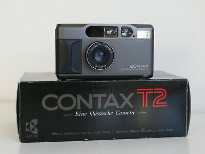 $ CDN2477.98 • Buy (Mint- & Boxed) Contax T2 35mm Point & Shoot Compact 35mm Film Camera