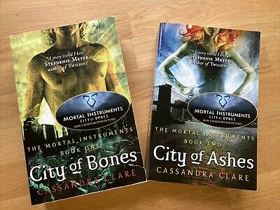 The Mortal Instruments Books - City Of Bones , City Of Ashes, Brand New • 3£
