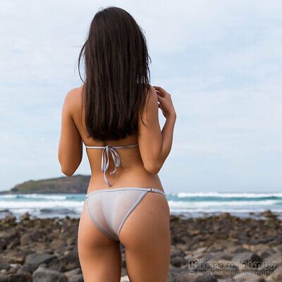 $ CDN194.10 • Buy DISCONTINUED!!! Wicked Weasel 219 Sheer Vision Bottom Silver Sand 312 Tri-Top L!
