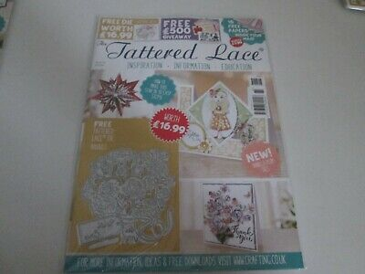THE TATTERED LACE MAGAZINE Issue 61 With Bouquet Die • 4.99£