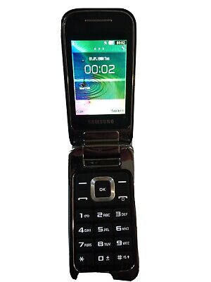 Samsung GT C3520 - Charcoal Grey (Unlocked) Mobile Phone.   Spares/ Faulty  • 9£