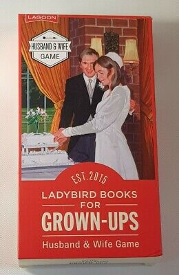 Adults Game Ladybird Books For Grown Ups Husband And Wife Game Hilarious Couples • 11£