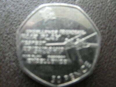 OLYMPIC  50p Rowing Fifty Pence Coin.Taken Out Of Circulation By Me In 2012  • 1.99£