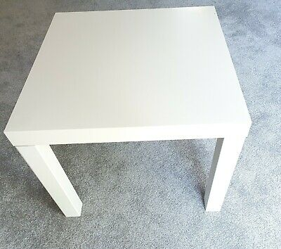 Small White IKEA LACK Coffee Table 14729 21.5  Wide 17.5  Tall • 5£
