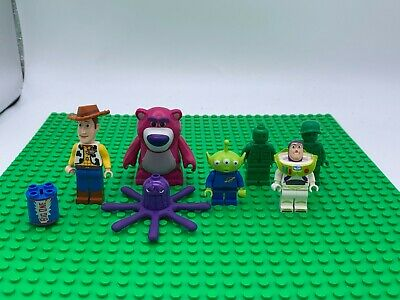 Bundle Of TOY STORY Minifigures LOTSO BUZZ, WOODY, ALIEN, STRETCH, ARMY MAN • 14.99£