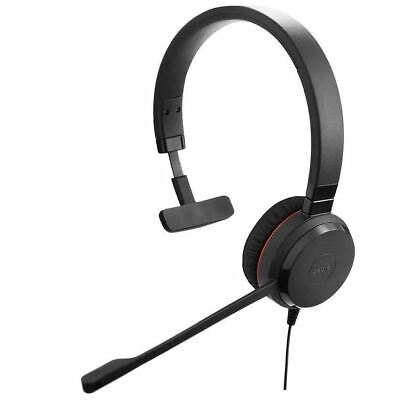 2 X Jabra Evolve 20 Mono USB Headsets - Skype - Teams - Plug-and-play  • 70£